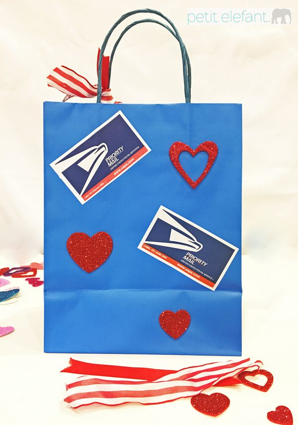 Valentine Mail Bag Back