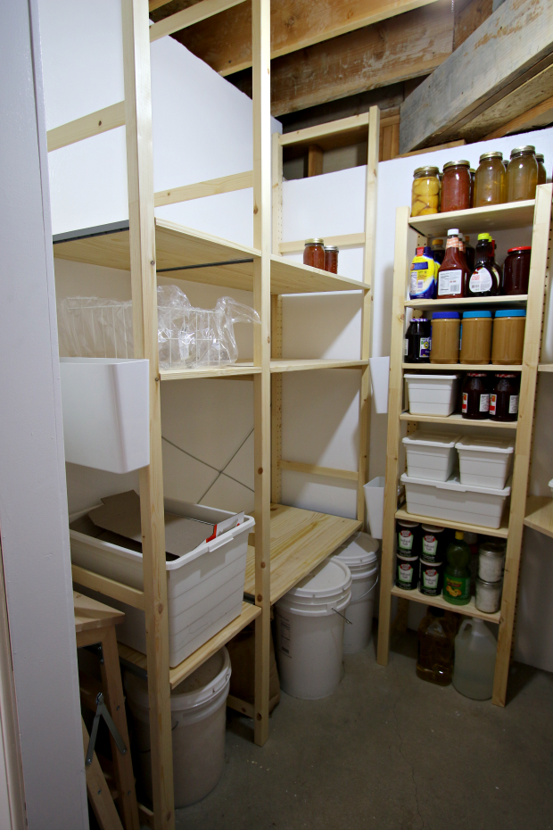 basement pantry