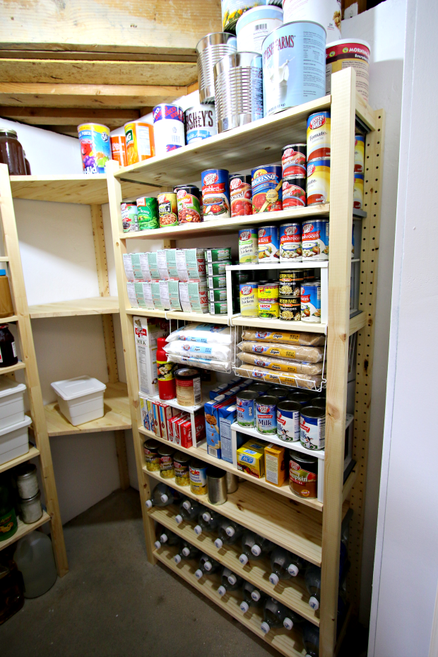 pantry remodel project